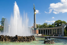 Monument to Soviet soldiers liberators Stock Photo