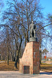 Monument to Soviet soldiers of World War II Royalty Free Stock Image