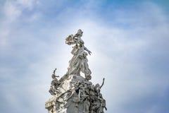 Monument to the Spaniards Monumento de los Espanoles in Palermo - Buenos Aires, Argentina stock photo