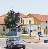 Monument to St. George the Victorious in Bulgarian Pomorie Royalty Free Stock Photography