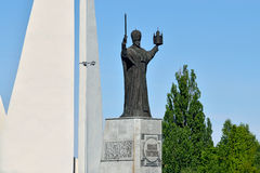 Monument to St Nicholas Wonderworker. Kaliningrad, Russia Royalty Free Stock Photography