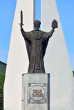 Monument to St Nicholas The Wonderworker. Kaliningrad, Russia Royalty Free Stock Photography