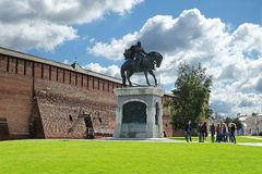 Monument to St. Prince Dmitry Donskoy Royalty Free Stock Images