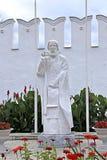 Monument to St. Sergius of Radonezh in Raifa monastery Royalty Free Stock Photography