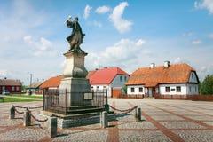 Tykocin, Monument to Stefan Czarniecki Stock Photos