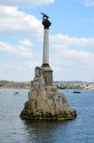 Monument to sunken ships, Sevastopol Stock Photo