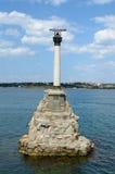 Monument to sunken ships, Sevastopol Stock Images