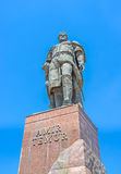 The monument to Tamerlane Royalty Free Stock Photo