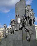 Monument to Taras Shevchenko Stock Image