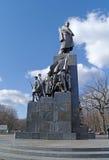 Monument to Taras Shevchenko Stock Photos