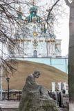 Monument to Taras Shevchenko Stock Images