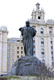 Monument to Taras Shevchenko Stock Photos