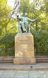 Monument to Tchaykovsky, Moscow Royalty Free Stock Image
