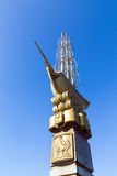 Monument to the 300th anniversary of city Lipetsk Stock Photography
