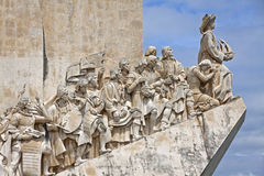 Monument To The Discoveries In Belem, Lisbon, Portugal Royalty Free Stock Photography