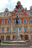 Monument to Torgils Knutsson in Vyborg, Russia Royalty Free Stock Photos