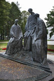 Monument to  Trinity in Yaroslavl. Russia Royalty Free Stock Images