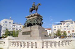 Monument to the Tsar Liberator, Sofia,  Bulgaria, Europe Royalty Free Stock Photography