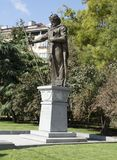 Monument to tzar Samuil in Sofia, Bulgaria Stock Photo