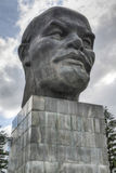 Monument to Ulyanov Lenin in Russia the city of Ulan-Ude Stock Image