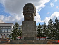 Monument to Ulyanov Lenin, Ulan-Ude, Russia Stock Photography