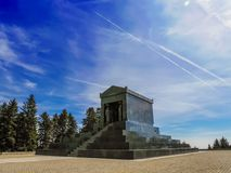 Monument to the Unknown Hero in Belgrade royalty free stock photography