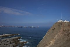 Monument to the Unknown Mariner in Iquique, Chile Royalty Free Stock Photos