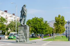 Monument to the Unknown Sailor on the embankment of Novorossiysk Stock Images