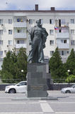 Monument to the unknown sailor in Novorossiysk Royalty Free Stock Photo