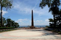 Monument to Unknown Sailor in Odessa Royalty Free Stock Photo