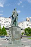 Monument to the Unknown Sailor on the Shore Promenade of Novoros Royalty Free Stock Image