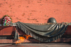 Monument to the Unknown Soldier in Moscow Stock Photo