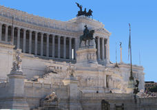 Monument to the unknown soldier in Rome Royalty Free Stock Photos