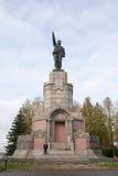 Monument to V.I. Lenin in Kostroma Royalty Free Stock Image