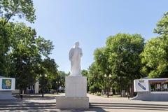 Monument to V.I. Lenin in Yeisk Stock Photos