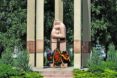 Monument to the victims of armed conflicts. Kaliningrad, Russia Royalty Free Stock Images