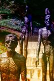 Monument to the Victims of Communism Prague Royalty Free Stock Photo