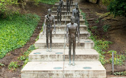 Monument to the Victims of Communism in Prague. Royalty Free Stock Photo