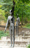 Monument to the Victims of Communism in Prague. Royalty Free Stock Photography
