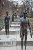 Monument to the Victims of Communism who Survived Stock Photo