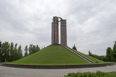 The monument. To the victims of fascism Stock Image