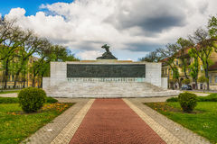 Monument to the victims of fascism in Subotica city, Serbia Royalty Free Stock Photo