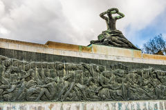 Monument to the victims of fascism in Subotica city, Serbia Royalty Free Stock Photography