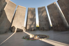 Monument to the victims of genocide of Armenians Royalty Free Stock Photos