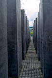Monument to victims of the Holocaust in Berlin Stock Photography