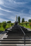 Monument to victims of Holodomor in Kiev, Ukraine Stock Images