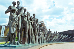 Monument to victims of Nazi concentration camps. Monument to those killed in Nazi concentration camps stock image