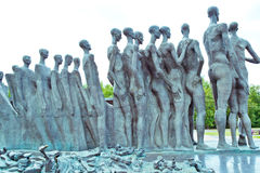Monument to victims of Nazi concentration camps Royalty Free Stock Photography