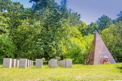 Monument to the victims of the 2nd World War in Brno, CZ Royalty Free Stock Photography