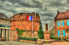 Monument to the victims of the war in Wasselonne. Alsace, France stock photography